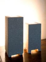 lampade da tavolo moderne in pietra