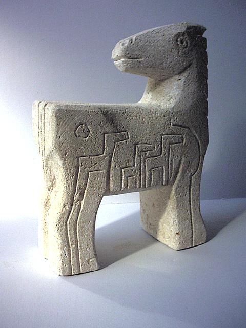 ippo scultura manuale su pietra di vicenza