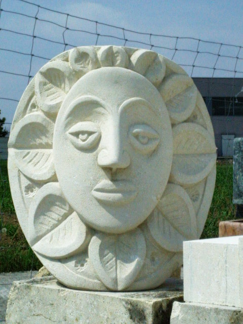 scultura per giardino