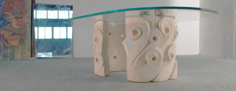 tavolino da salotto cristallo