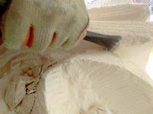 lavorazione artigianale pietra