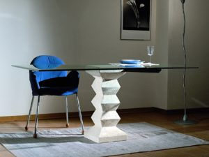 tavolo cristallo stone
