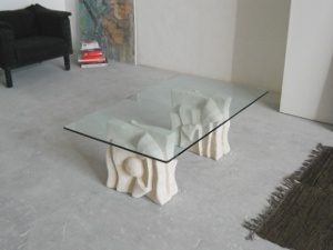 small table glass top living