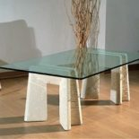 small table living room glass top