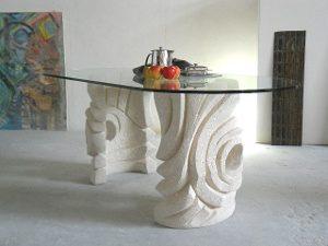 table salle à manger moderne en verre