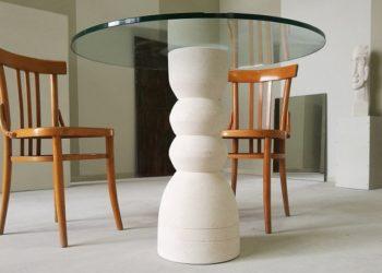 tavolo da pranzo rotondo moderno