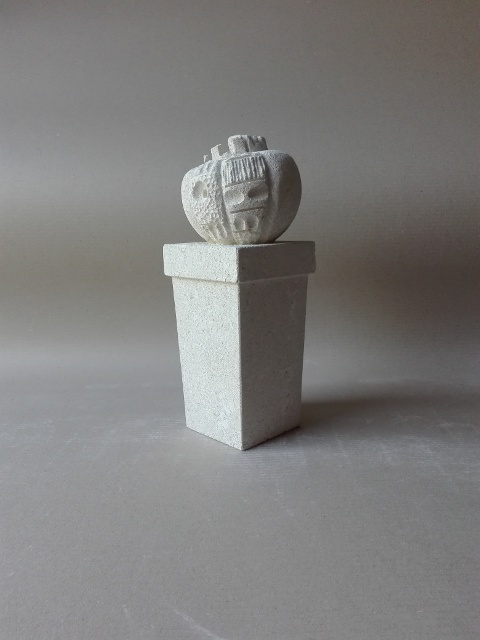 cactus scultura in pietra naturale