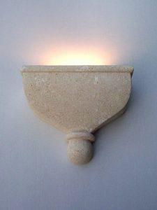 catleias lampada pietra