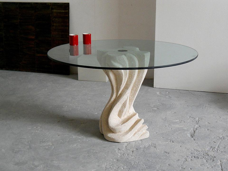 Tavoli Da Pranzo Rotondi In Vetro.Tavoli In Cristallo Rotondi Sala Da Pranzo Stonebreakers