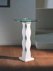 table console pierre et verre Matisse