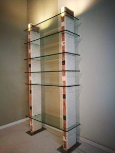 libreria pietra e cristallo